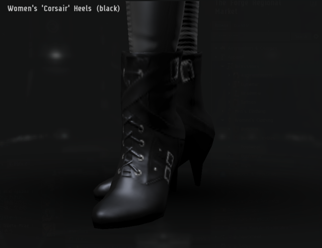 Women's 'Corsair' Heels (black).png