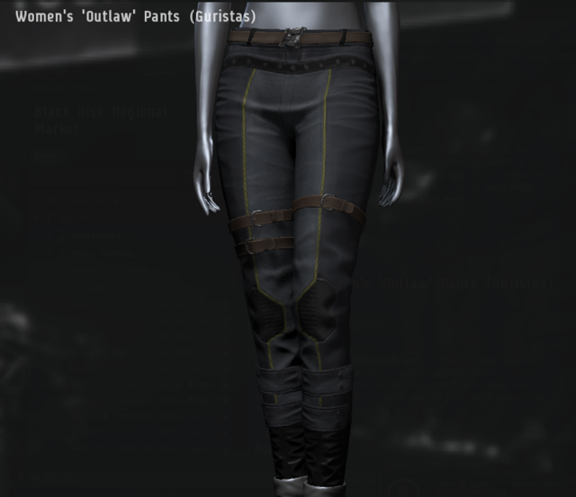 Women's 'Outlaw' Pants (Guristas).png
